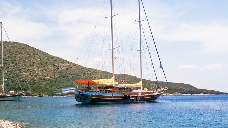Bodrum a las islas griegas del sur (lujo)