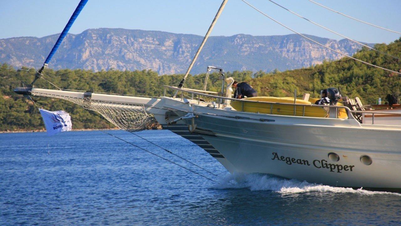 Goleta Aegean Clipper
