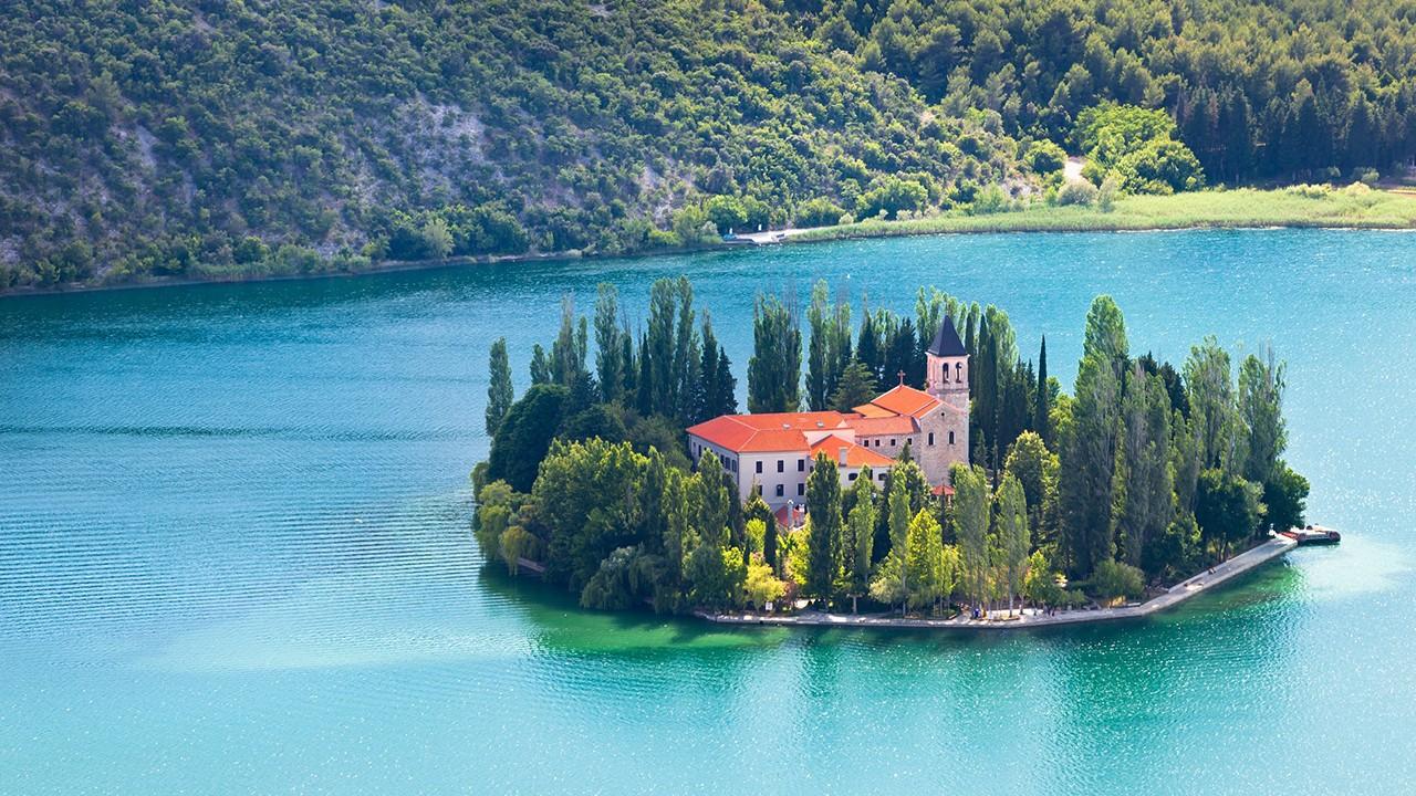 De Zadar a Dalmacia del Norte