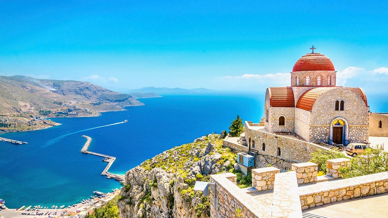 Islas griegas de la isla de Kos