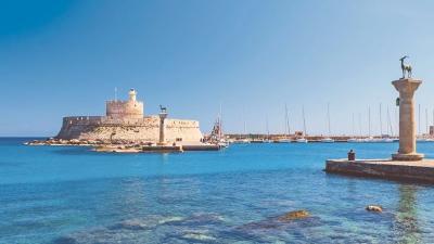 Bodrum a las islas griegas (Dodecaneso del Sur)