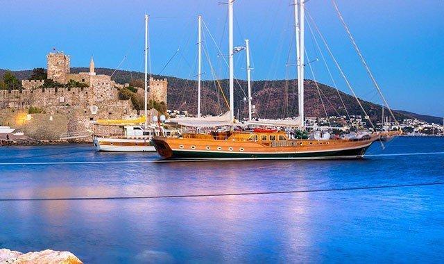 Itinerarios de cruceros azules en Turquía
