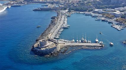 Islas griegas de la isla de Rodas
