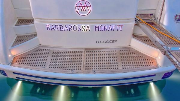 Yate a motor Barbarossa Moratti