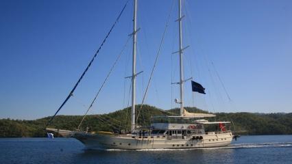 Aegean Clipper Goleta Yate